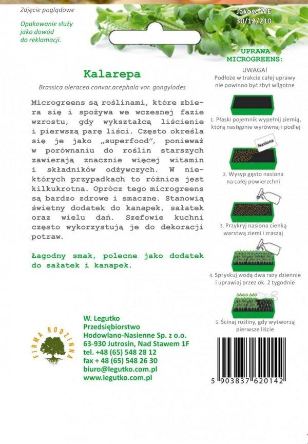 Kalarepa fioletowa uprawa