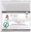 podkład nieprzemakalny-Gruba nakładka Higieniczna Ochraniacz z Gumką na Materac 120/60 firmy FIKI MIKI