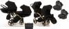 wózek bliżniaczy JUNAMA DIAMOND S-LINE DUO SLIM  3w1