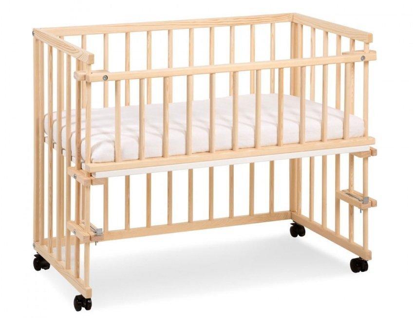 łóżeczko Dostawka Piccolo Duo Sosna Klupś łóżeczka 9 40