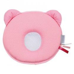 poduszka Panda Air oddychająca przeciw plaskiej główce ROŻOWA Candide expert