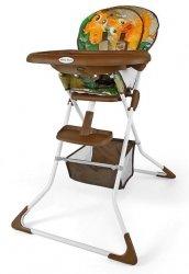 krzesełko do karmienia MINI firmy MILLY MALLY kolor brown