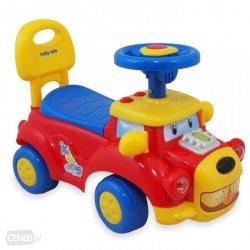 Pojazd  CZERWONY  Baby Mix 554