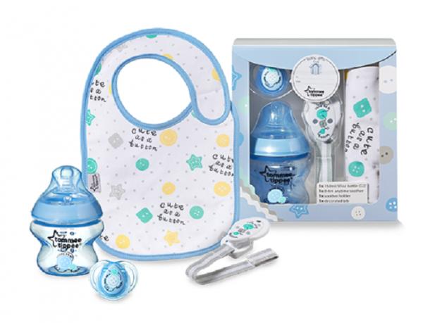 zestaw podarunkowy dla niemowląt NIEBIESKI Tommee Tippee