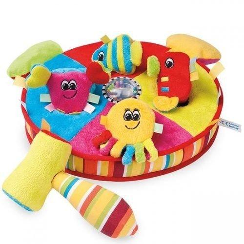 zabawka  Kolorowy ocean, pluszowy sorter CANPOL