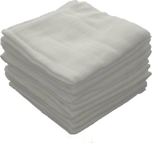 pielucha tetra biała  80/80  ( 10 sztuk)