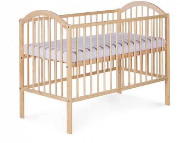 łóżeczko EWELINA I  SOSNA 120/60  KLUPŚ