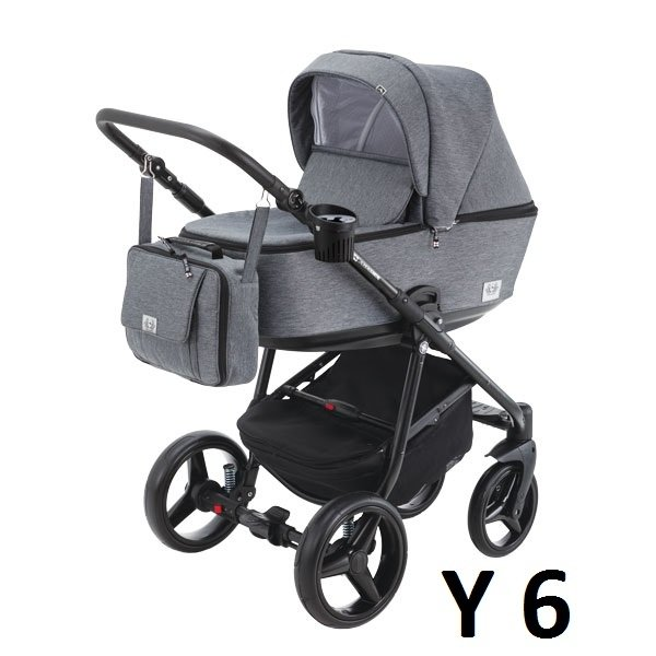 wózek REGGIO 3w1 (gondola+spacerówka + fotelik ) ADAMEX