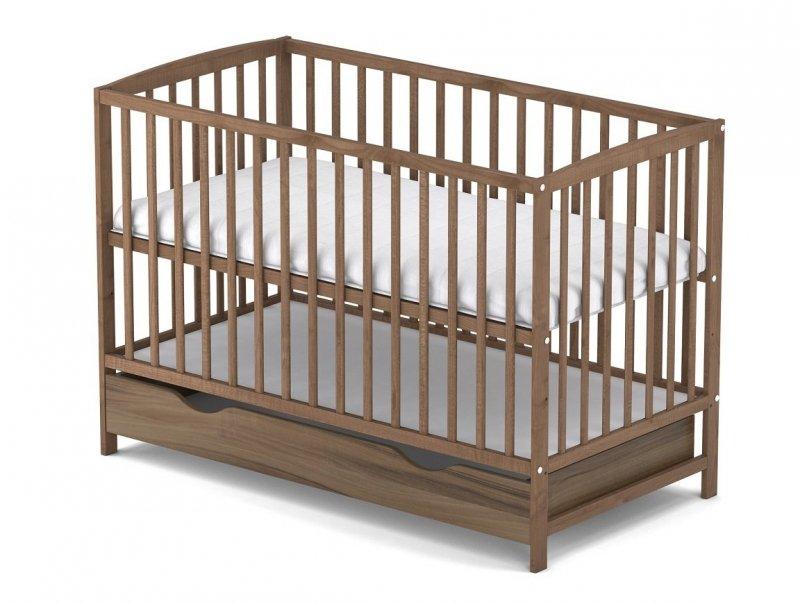 łóżeczko buk ARCO  120/60 cm + szuflada