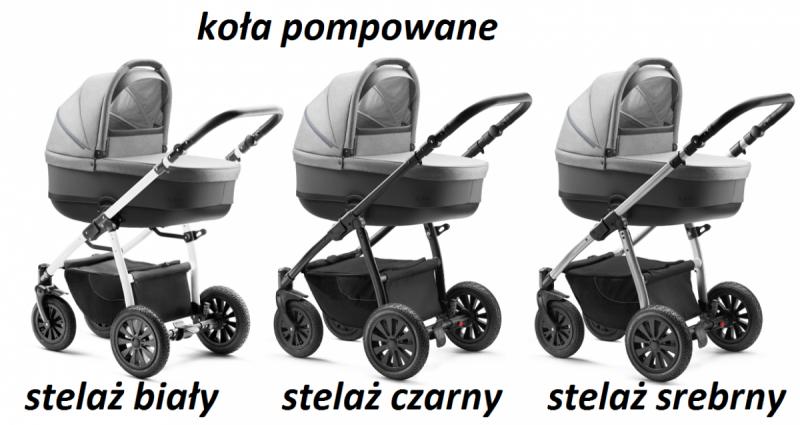 NEVO 2019 ( gondola +spacerówka + dodatki) JEDO