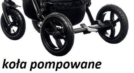 wózek MAGNETICO 3W1 ( gondola+spacerówka + fotelik KITE ) PARADISE BABY (opcja baza isofix)