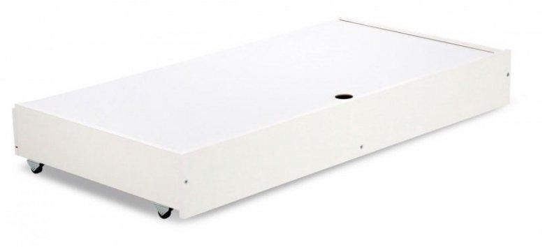 łózeczko Nel Chmurka białe 120x60  firmy KLUPŚ ( opcja szuflada)