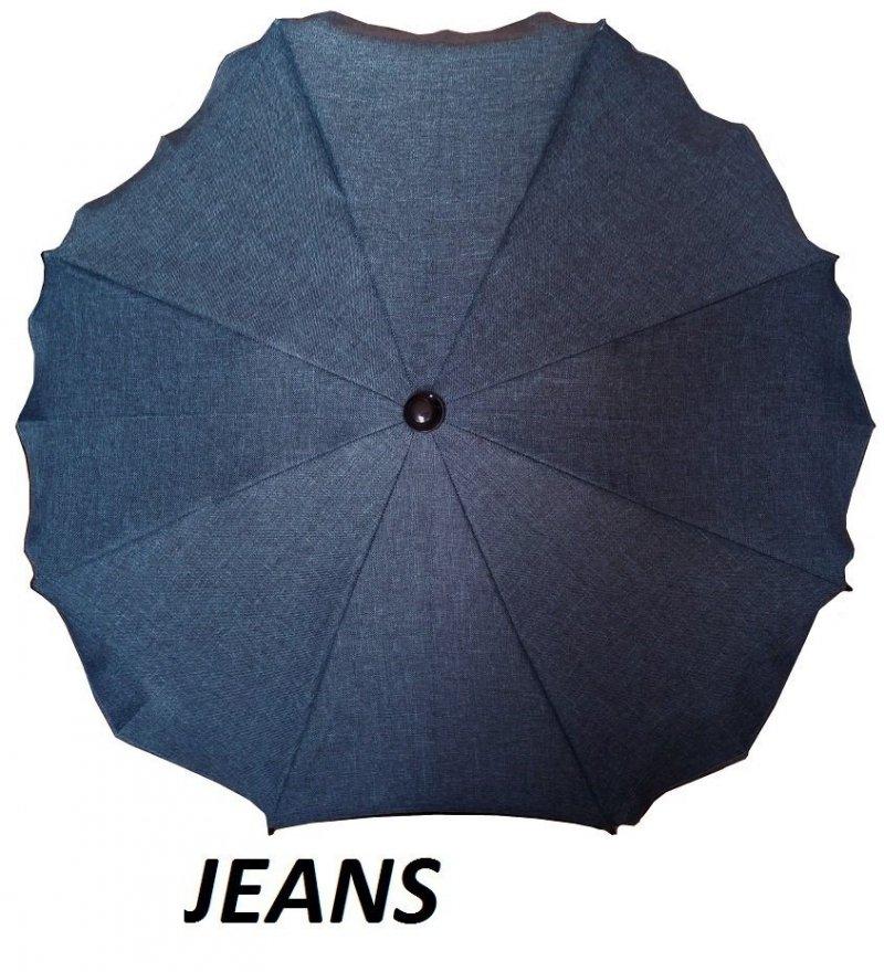 parasolka okrągła len ( melanż) 4 KOLORY