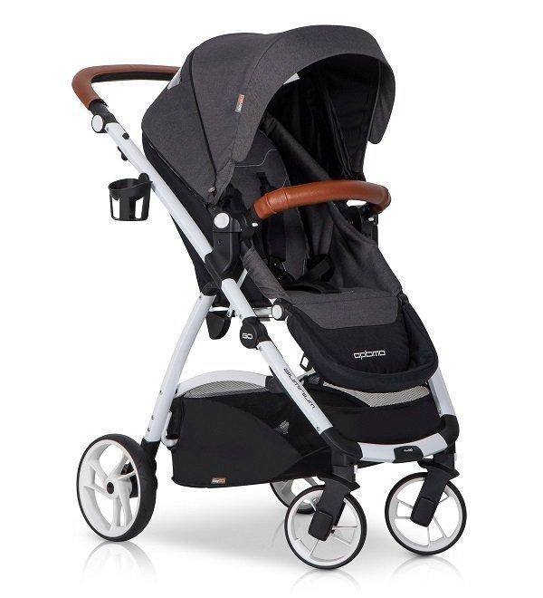 wózek spacerowy OPTIMO 2019 do 22 kg  przekładane siedzisko EASYGO