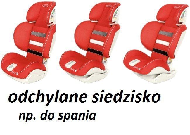 fotelik samochodowy- regulowane siedzisko CHART 15-36 KG składany BABYSAFE