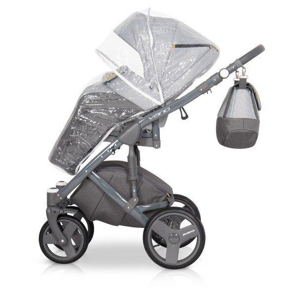 Nowoczesny wózek VARIO  ( gondola+spacerówka) firmy RIKO