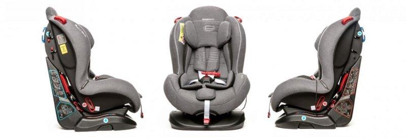 DELTA  fotelik samochodowy 0-25 kg PRZODEM I TYŁEM espiro  2019