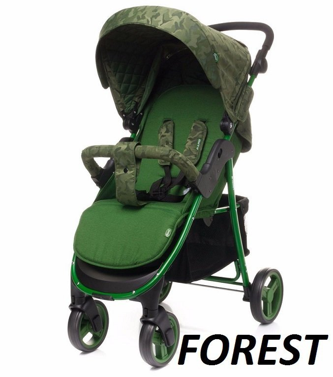 2021 wózek spacerowy RAPID UNIQUE + uchwyt + folia 4 BABY