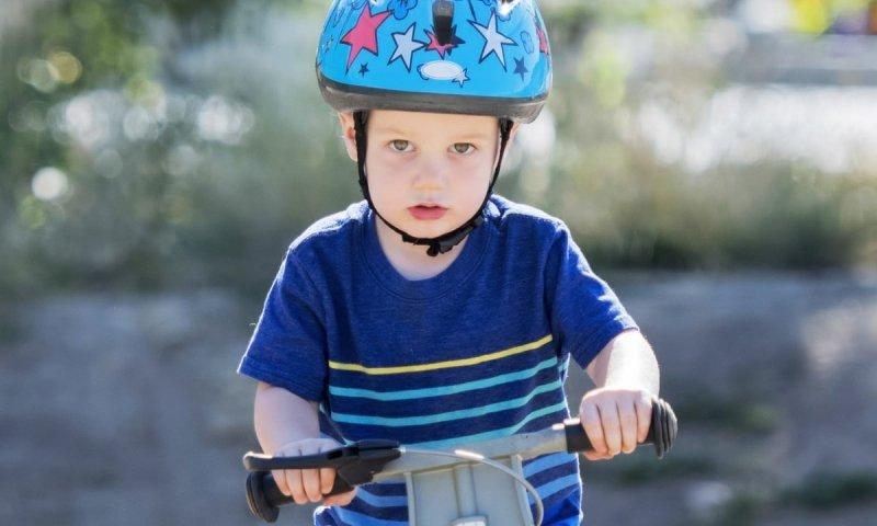 Rowerek biegowy WOOD  TOYZ  BLUE