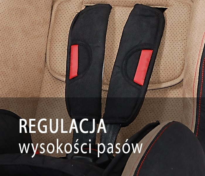 SPORTIVO  fotelik samochodowy 9-36kg COLETTO