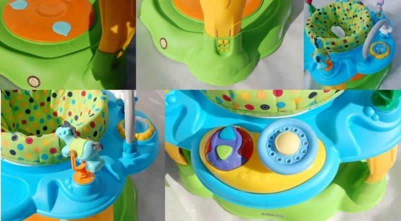 Stolik wielofunkcyjny BABY MIX BLUE-YELLOW