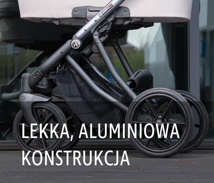 ponadczasowy DANTE zestaw 2w1 ( gondola + spacerówka) + ADAPTERY DO MAXI-COSI Coletto