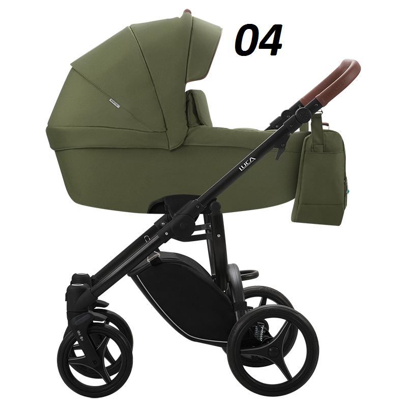 Nowa LUCA 2w1 ( gondola+spacerówka) Bebetto