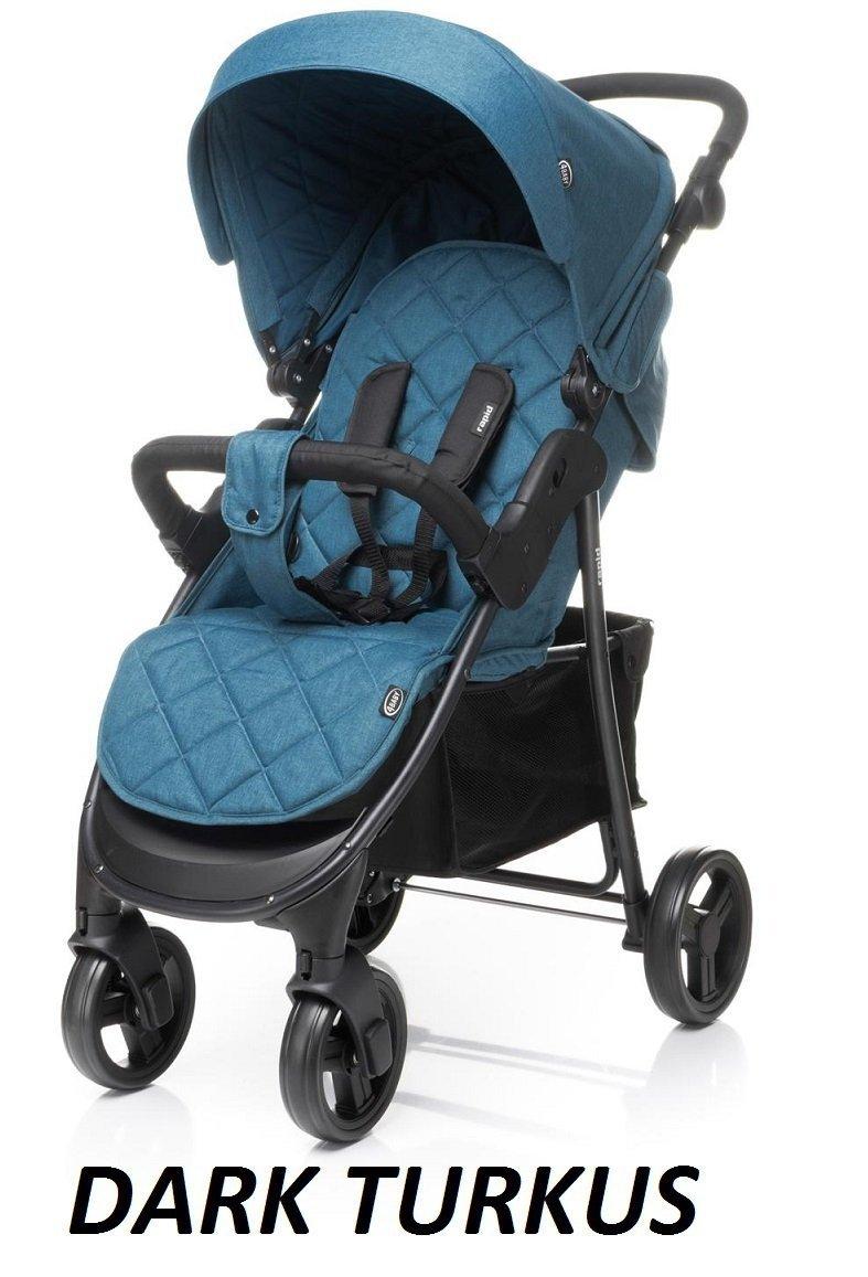 2019 wózek spacerowy RAPID + osłonka na nózki 4 BABY