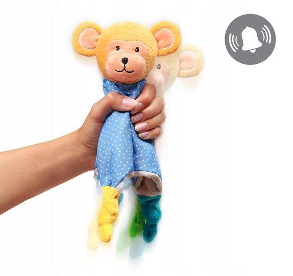 Przytulanka dla niemowląt - kocyk MONKEY ERIC BABY ONO kod 625