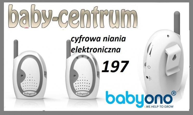 CYFROWA Niania elektroniczna BABY ONO KOD 197