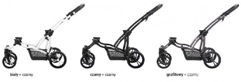 BEBETTO SPORT - ROK PO ROKU - wózek spacerowy  2 spacerówki + 1 gondola + 1 fotelik +EXTRA DODATKI zestaw xxxl