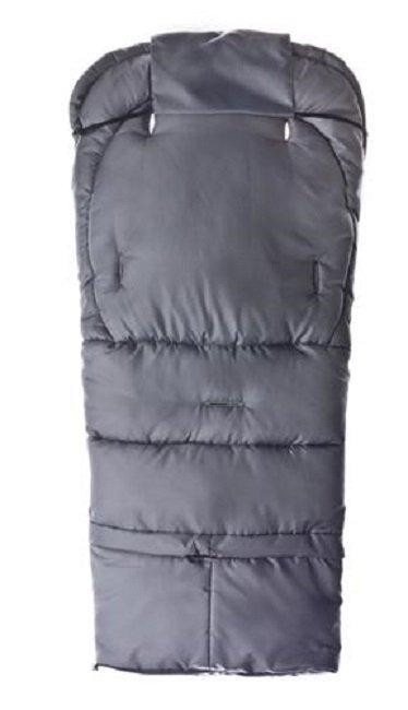 Śpiworek regulowany 4w1 do wózka . fotelika i na sanki POLAR  Sensillo  CZARNY/GREY BLACK/GREY