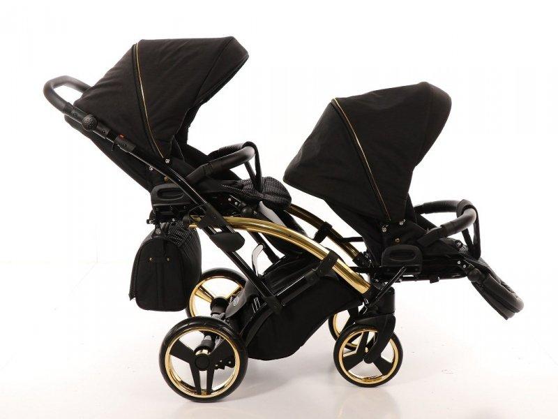 wózek bliźniaczy JUNAMA DIAMOND S-LINE DUO SLIM  2w1