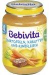 Bebivita Wołowina Ziemniaki Marchewka 190g 4m