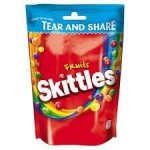 Skittles Fruits Owocowe Cukierki Do Żucia 174g