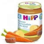 Hipp Bio Marchew z Ziemniakami Wołowina 4m 190g