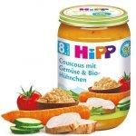 Hipp Bio obiadek Kuskus z Warzywami i Kurczakiem 8m 220g