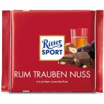 Ritter Sport Rum Trauben Nuss Czekolada Rum Orzechy 100