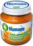 Humana Bio Marchew Ziemniaki 4m 125g