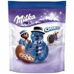 Milka wigilijne kulki czekoladowe ciasteczka Oreo 86g