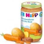Hipp Bio Warzywa z Bio Wołowiną Omega3 12m 250g