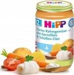Hipp Kremowe Warzywa Ziemniaki Flądra 12m 250g