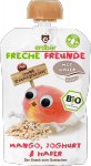 Erdbar Bio 100% Mus Mango Jogurt Owies 1r 100g