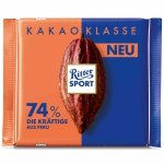 Ritter Sport Ciemna Czekolada 74% Kakao z Peru 100g