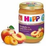 HIPP BIO Deser Mirabelki Jabłko Brzoskwinie 190g 6m
