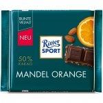 Ritter Sport Mandel Orange Ciemna Czekolada 50% 100g