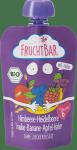 FruchtBar Bio Maliny Winogron Banan Jagody mus w Tubce