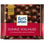 Ritter Sport Dunkle Voll Nuss Gorzka Czekolada Orzechy 100
