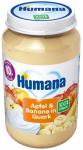 Humana BIO 100% Jabłko Banan Twarożek 10m