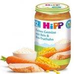 Hipp obiadek Bio Warzywa Ryż Indyk 12m 250g